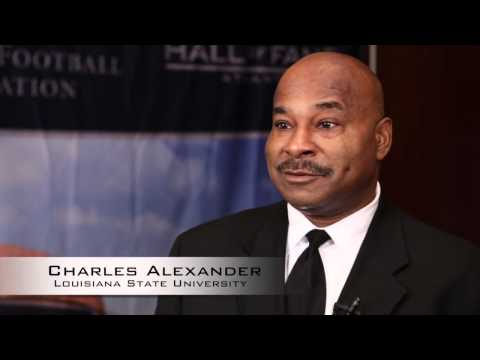 College Football Hall of Fame Exclusive | Charles Alexander Interview