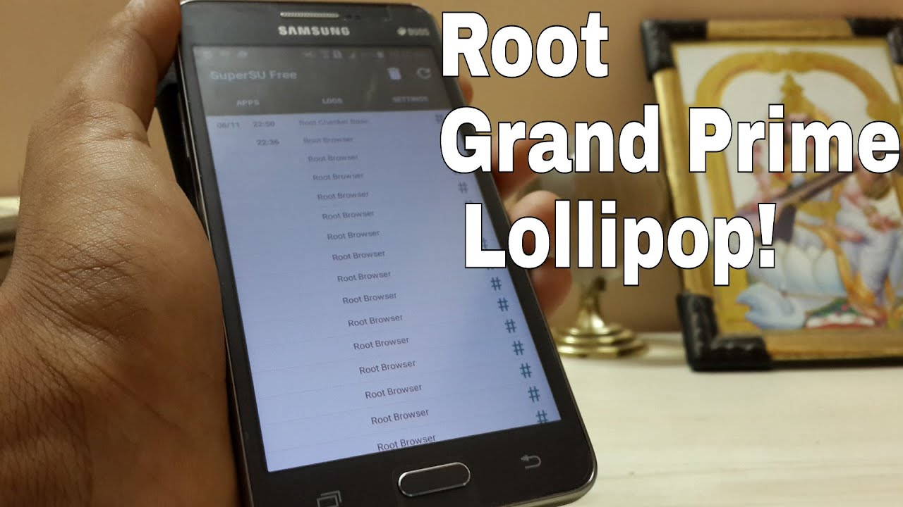 root application for grand prime