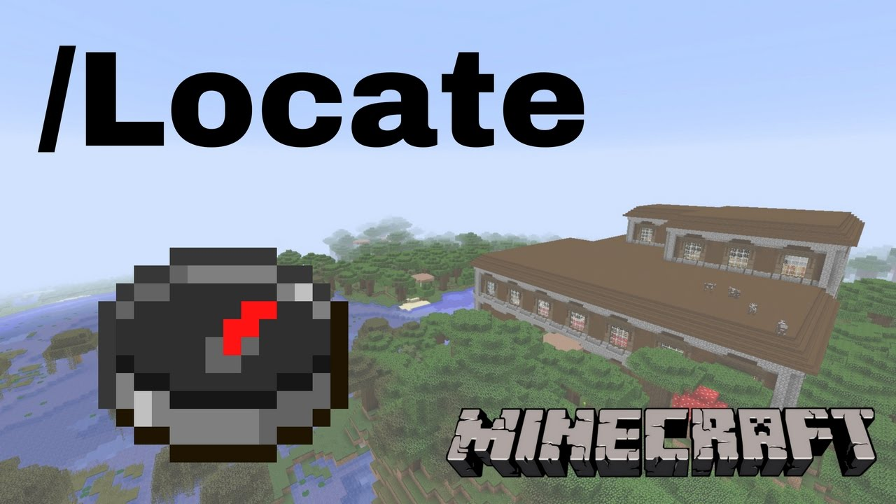 How to Use the Locate Command (Minecraft)