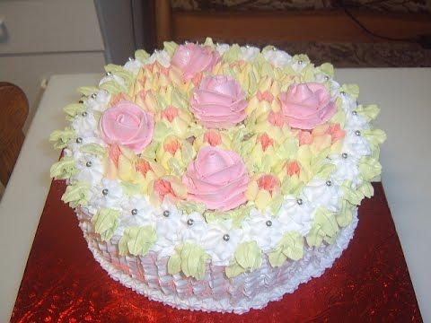 Как сделать кремовый пирог