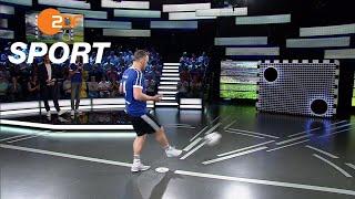 Torwand: Saisonfinal-Sieger   das aktuelle sportstudio - ZDF