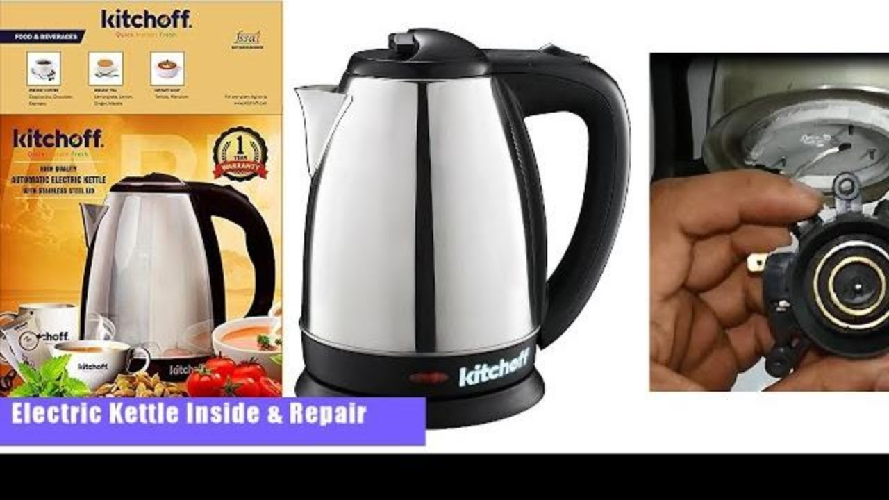 How to fix an electric kettle at home