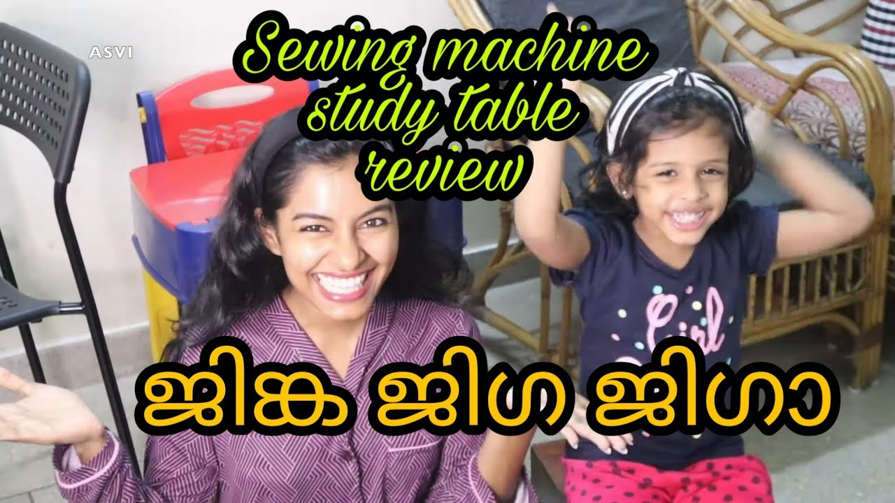 Here starts Onam vlogs|Got new sewing machine from Amazon|Small study table for kids|Asvi Malayalam