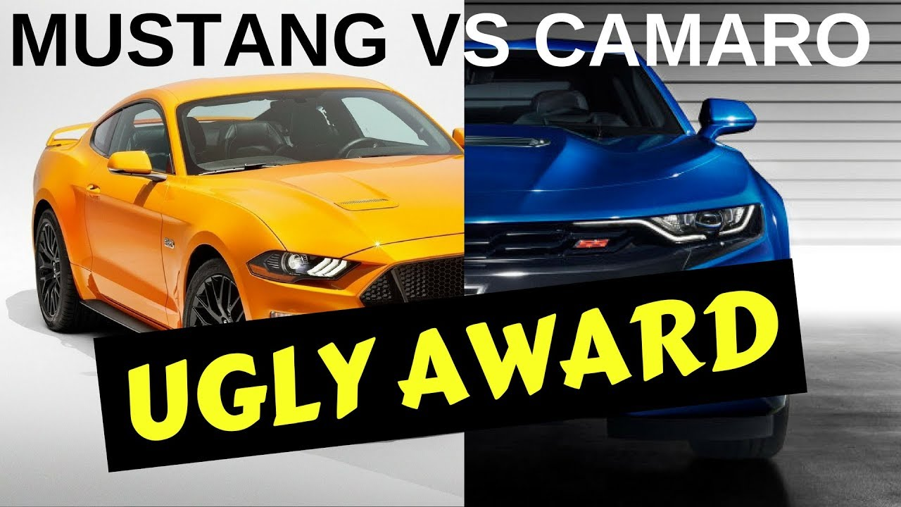 2019 Camaro vs. 2018 Mustang | Which One's Uglier? - YouTube
