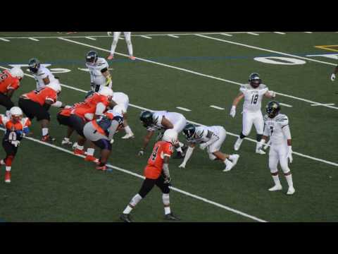 Monroe County Sting vs Buffalo Spartans 2016 2nd and 3rd Quarter