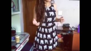 Sexy Indian Girl in short dress So hot