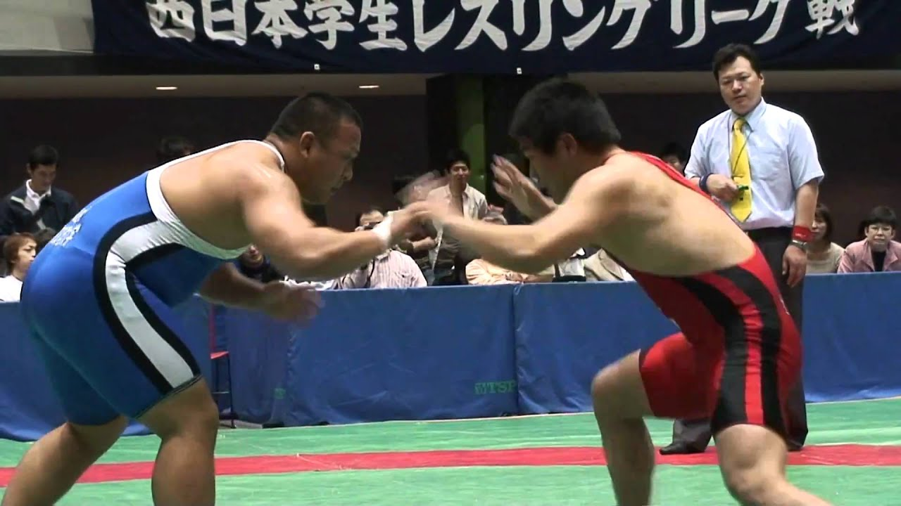 College Wrestling in Japan レ...