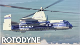 Why The Vertical Takeoff Airliner Failed: The Rotodyne Story