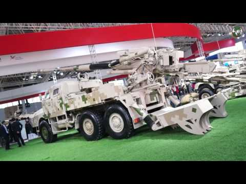 Norinco Chinese China defense industry armored vehicles tanks air defense UAV UGV AirShow China 2016