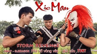 GUGU Nerf War : CID Dragon Nerf Guns Fight Criminal Group XICMAN Unequal Battle
