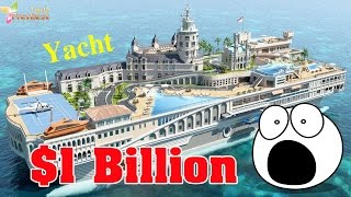 Top 10 Unbelievable Boats Only The Richest Can Afford - Most expensive yachts - Top 10 Prettiest
