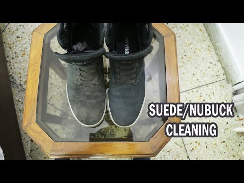 How to clean Suede/Nubuck shoes | Puma Nubuck & Suede Kit review