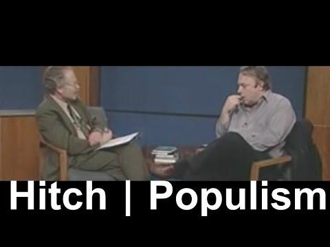 Christopher Hitchens vs Populism (Bill Clinton, Mother Teresa, Princess Diana, Noam Chomsky)