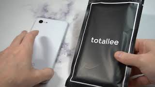 totallee Thin Soft Cover Slim Flexible TPU Google Pixel 3XL Clear Unboxing and Review