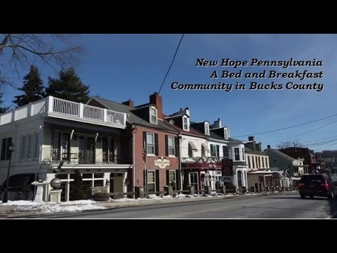 New Hope PA, Bed and Breakfast Community in Bucks County Estate Homes, Town Homes Solebury Township