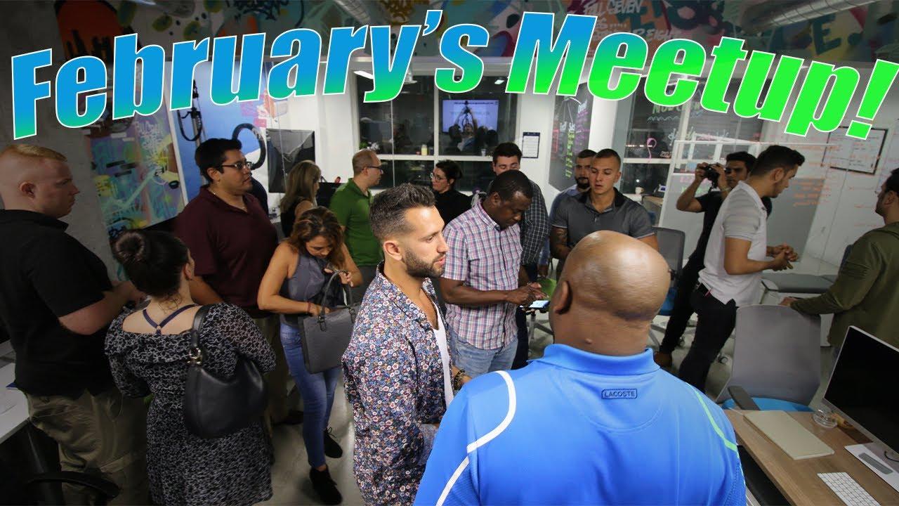 February's Meetup!!!