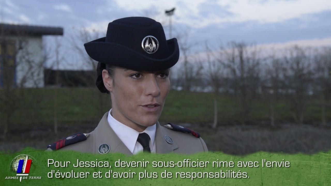 Jessica l ve sous officier de l 39 arm e de terre youtube - Grille indiciaire sous officier armee de terre ...
