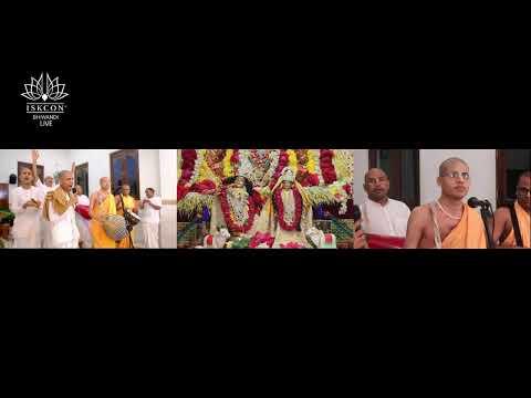 Sri Krishna Janamshtami ISKCON Bhiwandi Live 2020