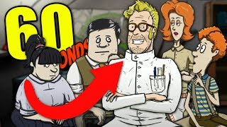 Wait...WHO IS THIS GUY?  - 60 Seconds (CATomic Adventure DLC) Mad Scientist Ending