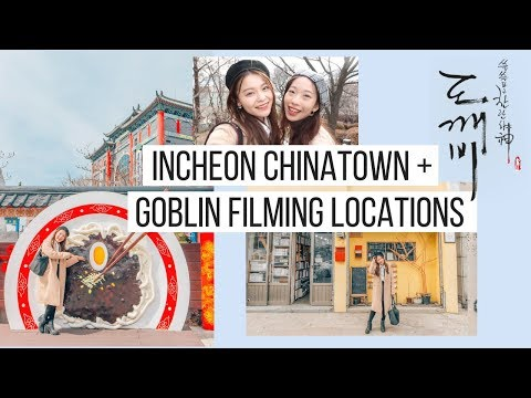 SNU Study Abroad | Incheon Chinatown + Goblin Filming Locations | Korea Vlog #17