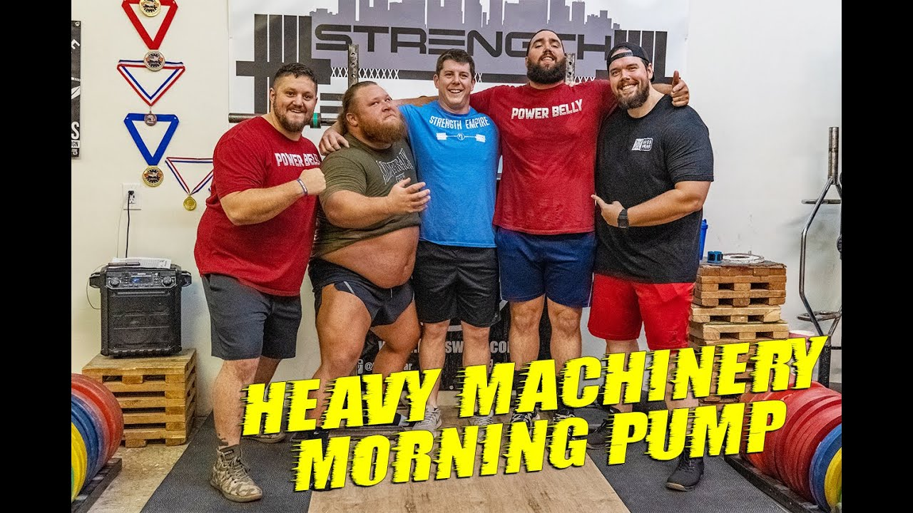 Heavy Machinery VS The Hoss Crew!