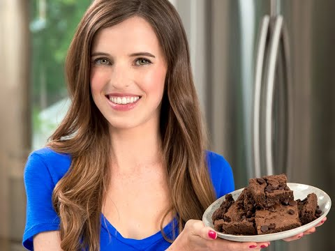 Almond Butter Brownies With Chocolate Covered Katie