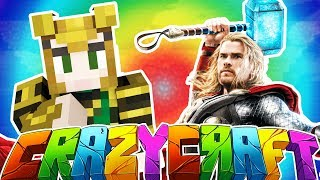 CREATING THOR & LOKI IN MINECRAFT! - MINECRAFT