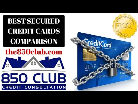 The Best Secured Credit Cards In Comparison