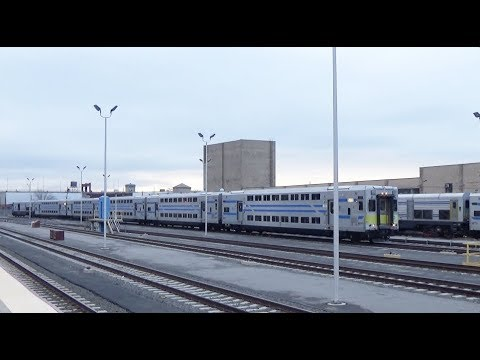 LIRR - Long Island City - Trains Arriving at the Station