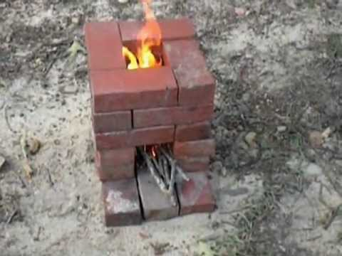 Homemade Budget Rocket Wood Stove - Homemade Budget Rocket Wood Stove - YouTube