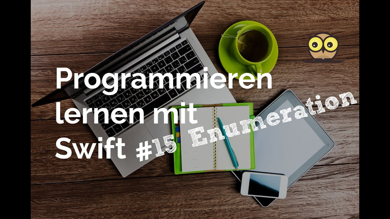programmieren lernen mit swift 15 enumeration youtube. Black Bedroom Furniture Sets. Home Design Ideas