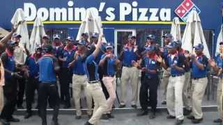 DOMINO'S PIZZA TEAM NIGERIA NO 1 SINGING AND HAVING FUN  IT'S WHAT WE DO!