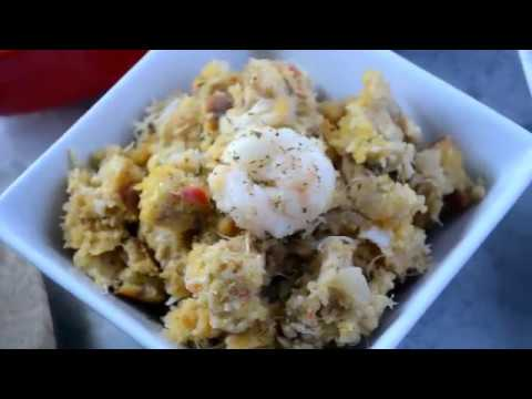 How To Make Seafood Cornbread Dressing - Thanksgiving Recipe