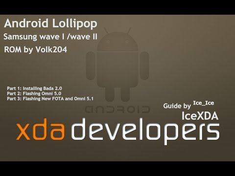 How to Install Android Lollipop on Samsung wave I/II only ( same for Omni 4.4)