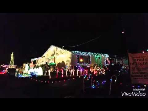 Sacramento 2015 Christmas Lights - Dovewood Court - YouTube