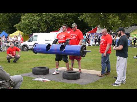 Yorkshire's Strongest Man u105kg 2015 - Ian Phillips - 110kg Log