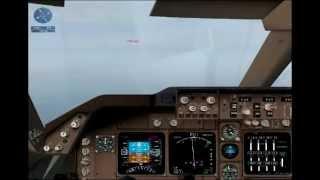 Landing at Singapore