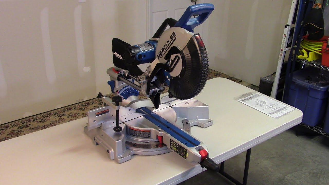 Hercules 12 inch Sliding Compound Miter Saw - A Close Look