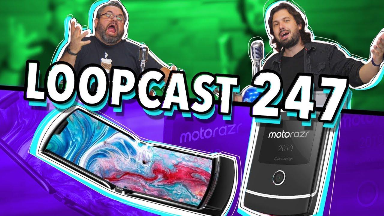 Download A VOLTA DO MOTOROLA V3 COM TELA DOBRÁVEL! Loopcast 247!
