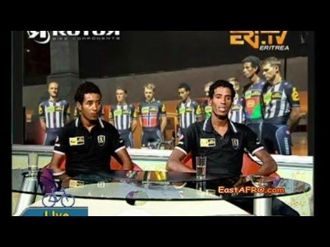 ERiTV Interview with Daniel Teklehaimanot, Merhawi Kudus Tour de France 2015 | Eritrea