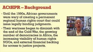 5   6   Lecture 6  The African Charter  human rights system