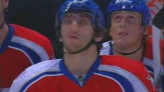 "Ovechkin ""Admiring"" a  Fan - All Star Game - January 25 2009"