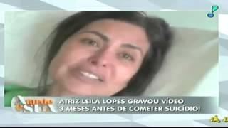 Programa A Tarde é Sua - 12/06/2015 - Suícidio da atriz Leila Lopes