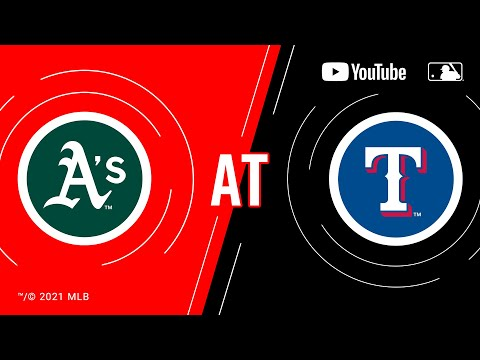 Athletics at Rangers | MLB Game of the Week Live on YouTube