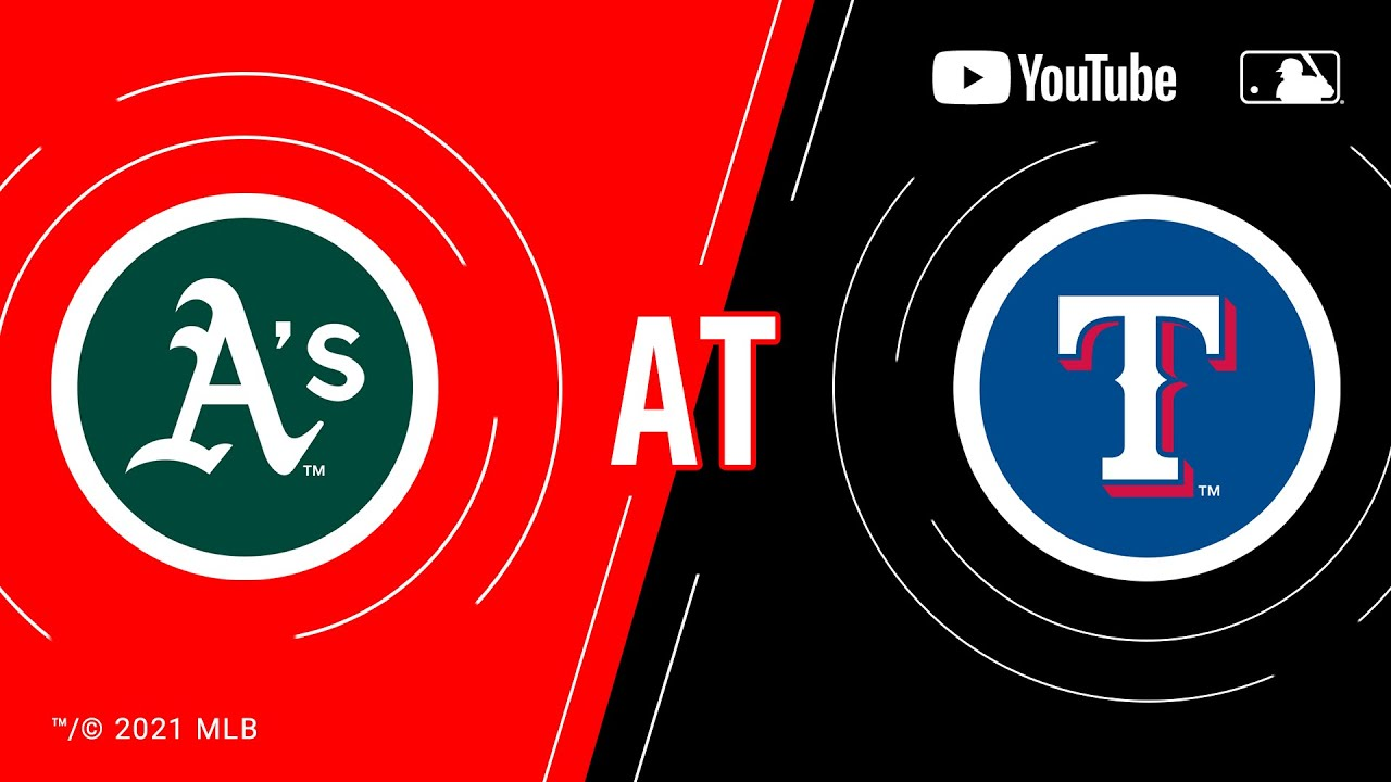 Download Athletics at Rangers | MLB Game of the Week Live on YouTube