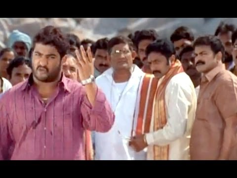 Samba Movie || Jr.NTR Stunning Dialogues Scene