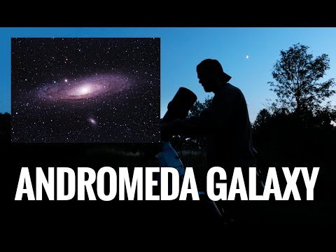 Let's Photograph the Andromeda Galaxy