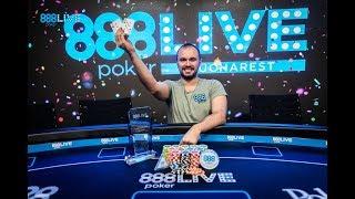 Winner of 888poker Live in Bucharest Opening Event