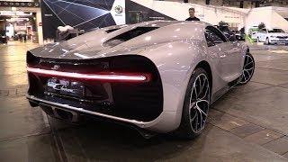 $3.5 Million Bugatti Chiron - Start Up, Driving & SOUNDS!