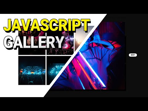 Gallery Using HTML, CSS, And JavaScript | How To Open Images Using JavaScript | JavaScript Tutorial